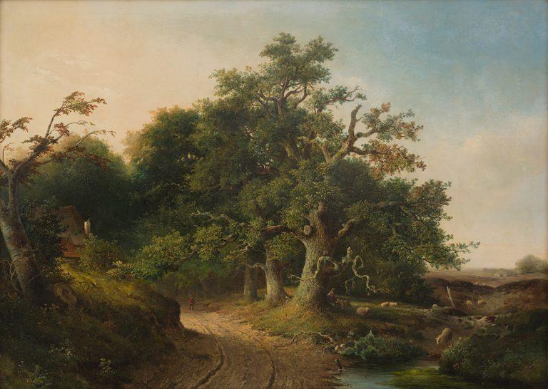 Gelderse landschappen kijken in Apeldoorn