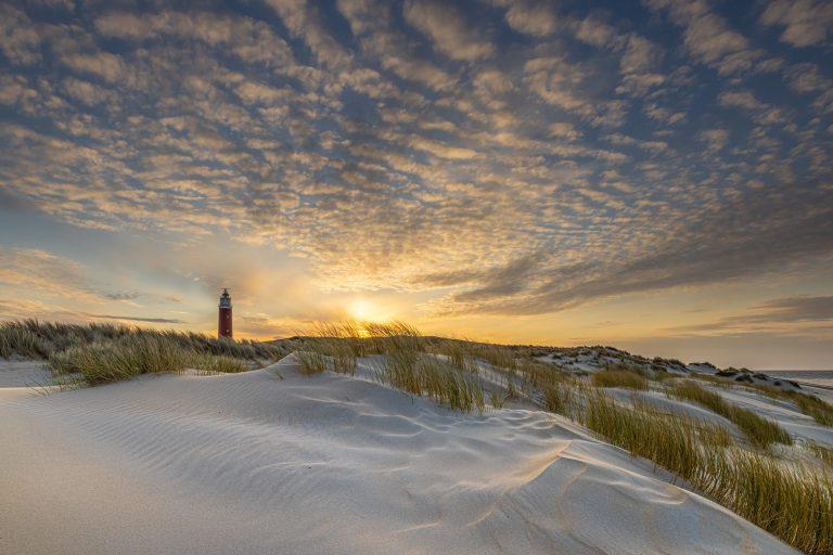 Duinlandschap op Texel