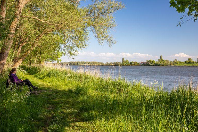 Klein Profijt: ruwe natuurdiamant langs de Oude Maas