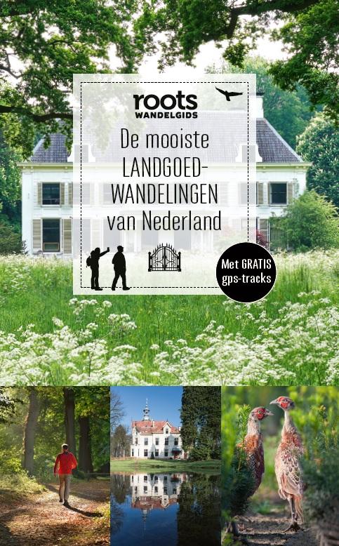 Afbeelding van het boek 'De mooiste LANDGOEDWANDELINGEN van Nederland'