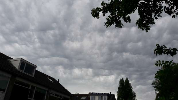 Spectaculaire wolkenzee