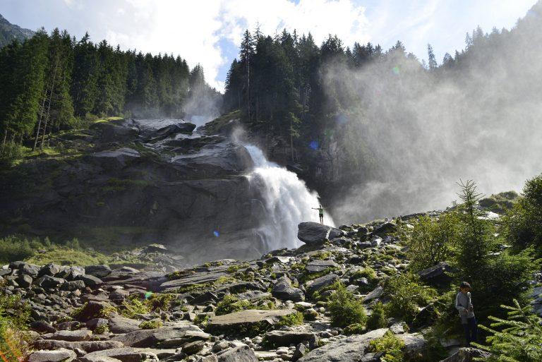 Het geheim van vallend water in Oostenrijk
