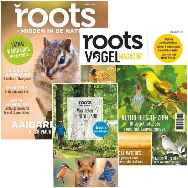 Pakket Roots editie 4 – 2021 + Vogelmagazine 1 – 2021