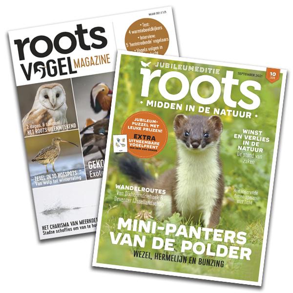 Pakket Roots editie 9 + Vogelmagazine 2 - 2021