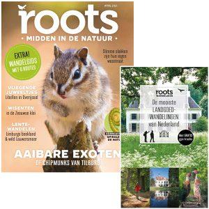 Abonnement met Roots wandelgids De mooiste landgoedwandelingen van Nederland