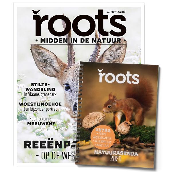 3x Roots Magazine + Natuuragenda 2020