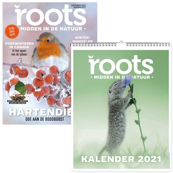 Roots editie 12/01 2021 + Roots Jaarkalender 2021