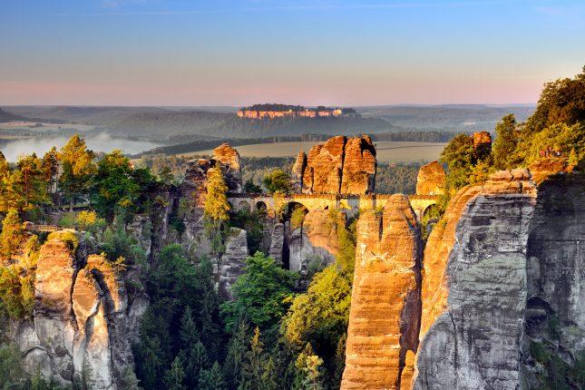 Nationaal Park de Sächsische Schweiz