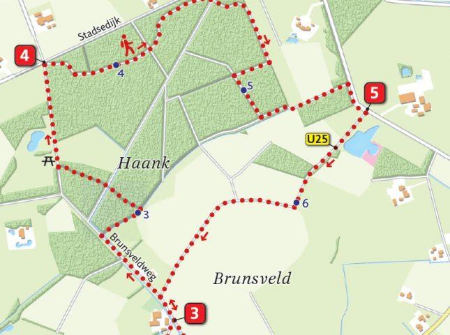 kaartje landgoed Slangenburg