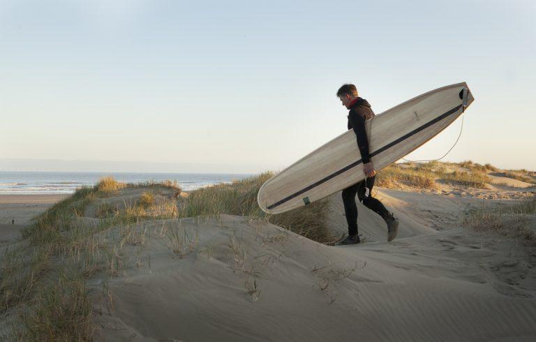 Surfen op Hollands hout