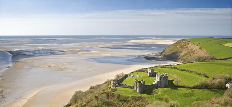 Avontuurlijk wandelen langs de kust van Wales