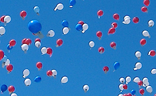 Ballonnen de lucht in? Vergeet het maar!