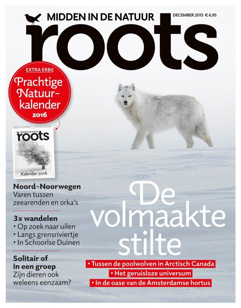 Extra bij de nieuwe Roots: Natuurkalender 2016