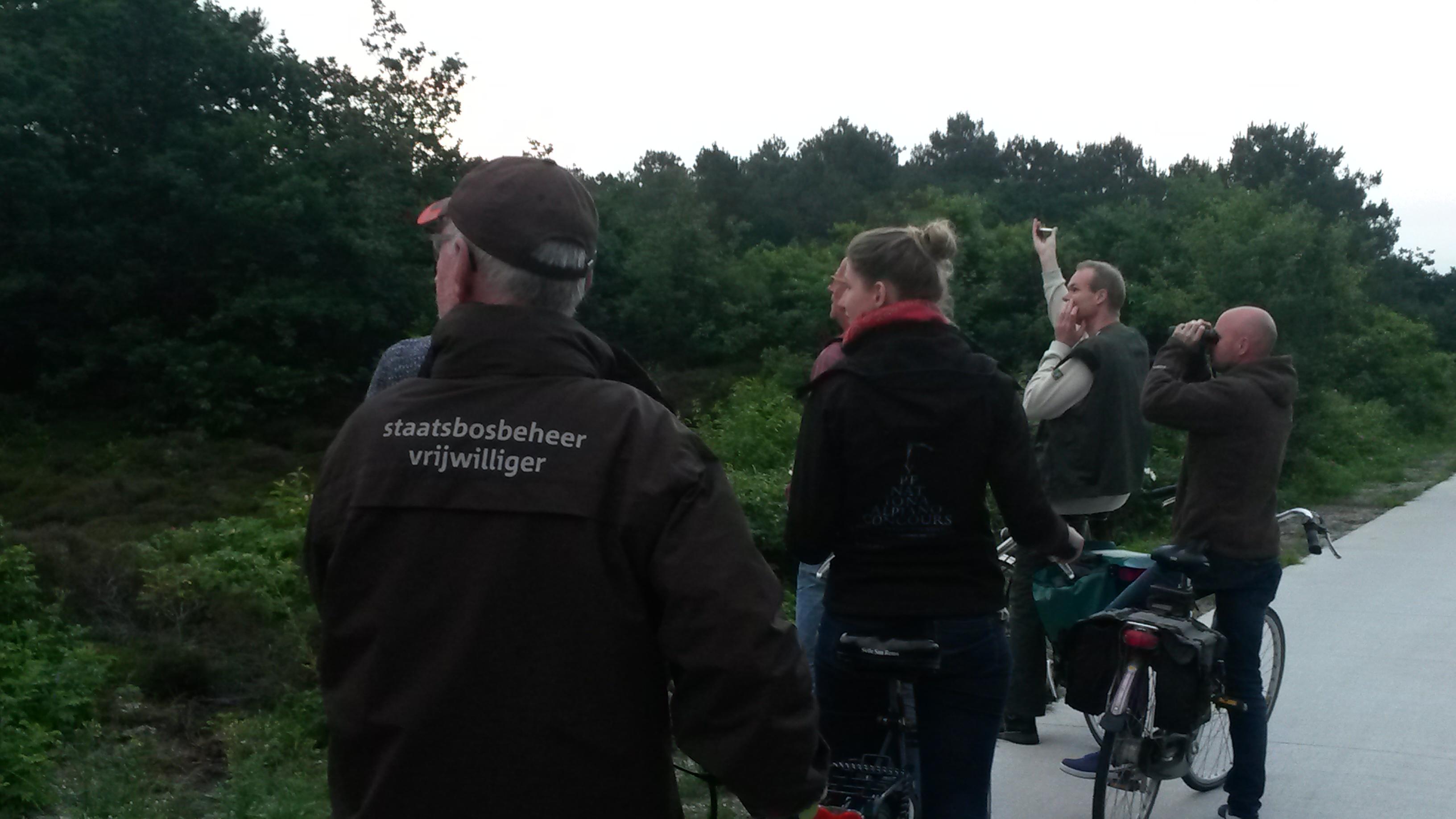 Deelnemer saan de excursie in de Schoorlse Duinen Paul Bohre