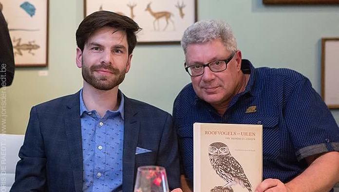 De presentatie van het roofvogelboek