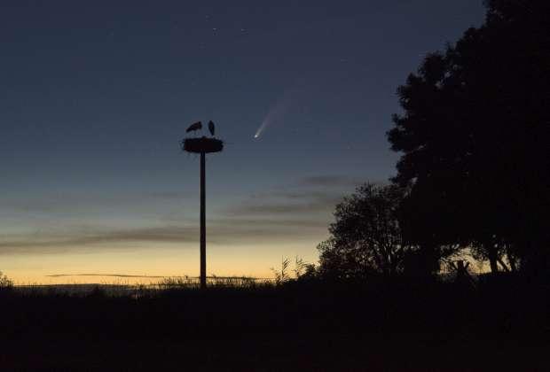 Heldere komeet