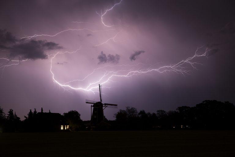 Het verhaal achter de winnende foto: bliksem in de Achterhoek