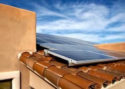 De zon op je dak