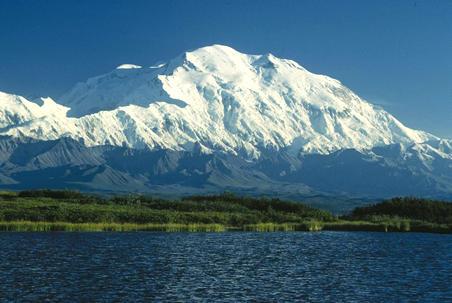 Hoogste berg van Amerika is toch minder hoog