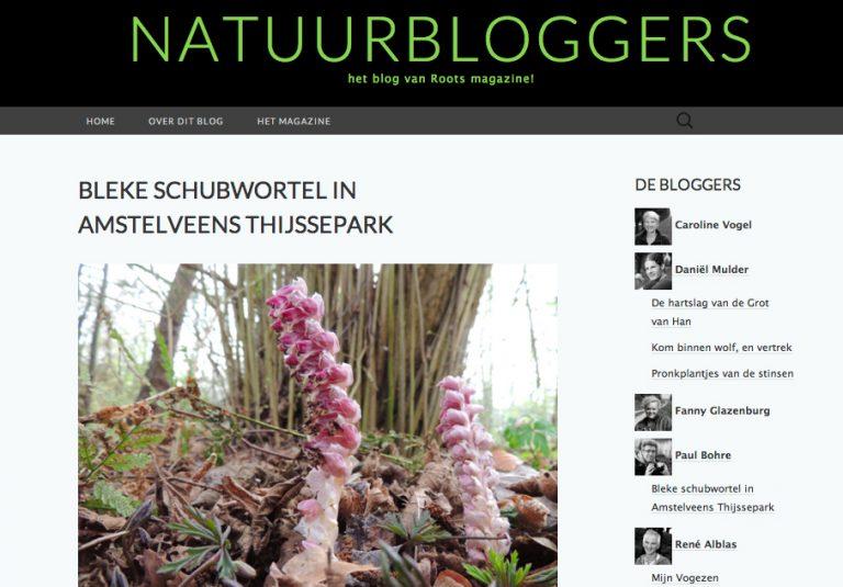 Roots heeft zijn eigen blog: Natuurbloggers!