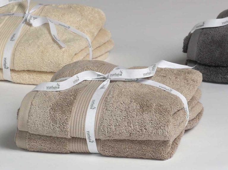 4 x kans op zachte eco-handdoeken
