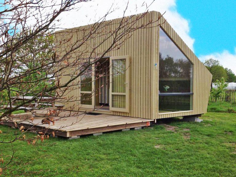 Echt kamperen en toch een beetje luxe