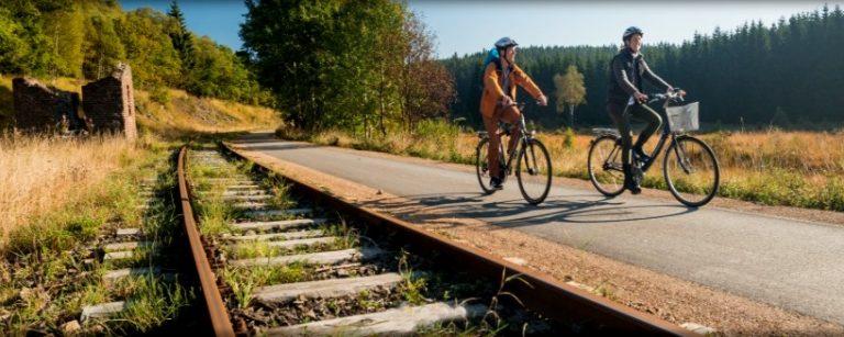 Fraaie Duits/Belgisch/Luxemburgse fietsroute