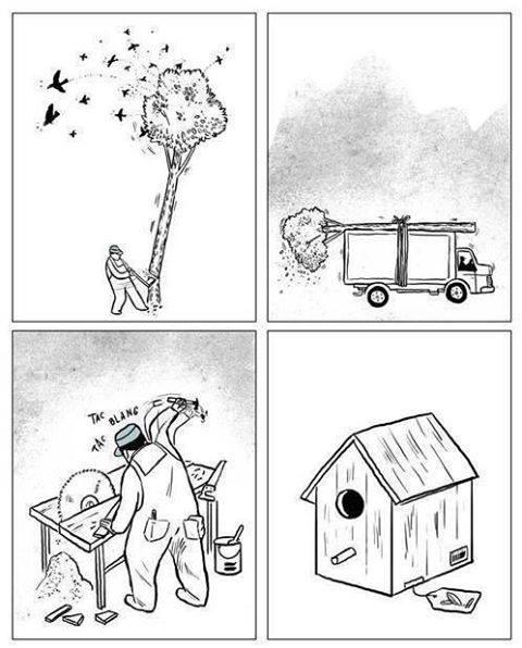 Zo gaan wij met de natuur om