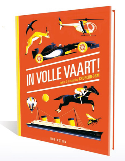 In volle vaart, een boek over snelheid