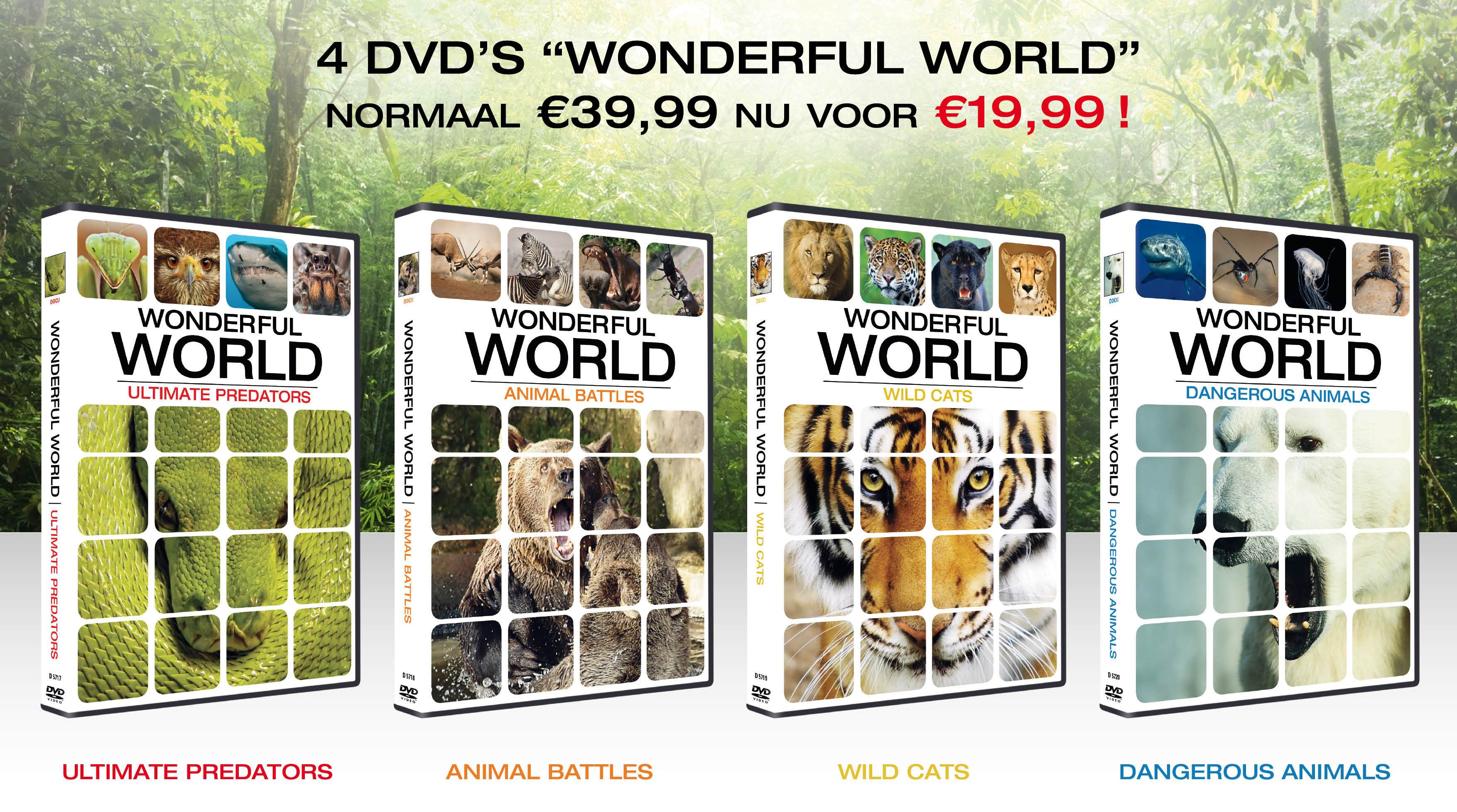 Roots geeft 5x de dvd-set Wonderful World weg!