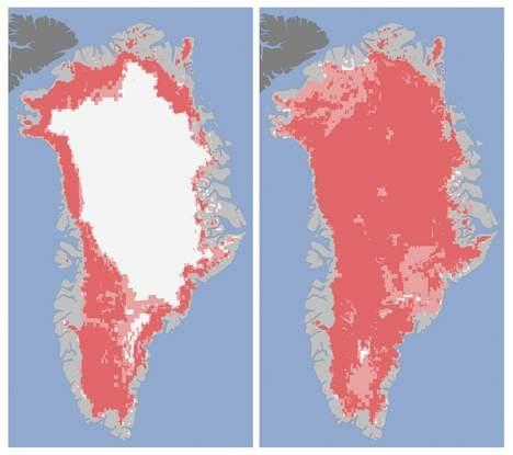 Groenland groen?