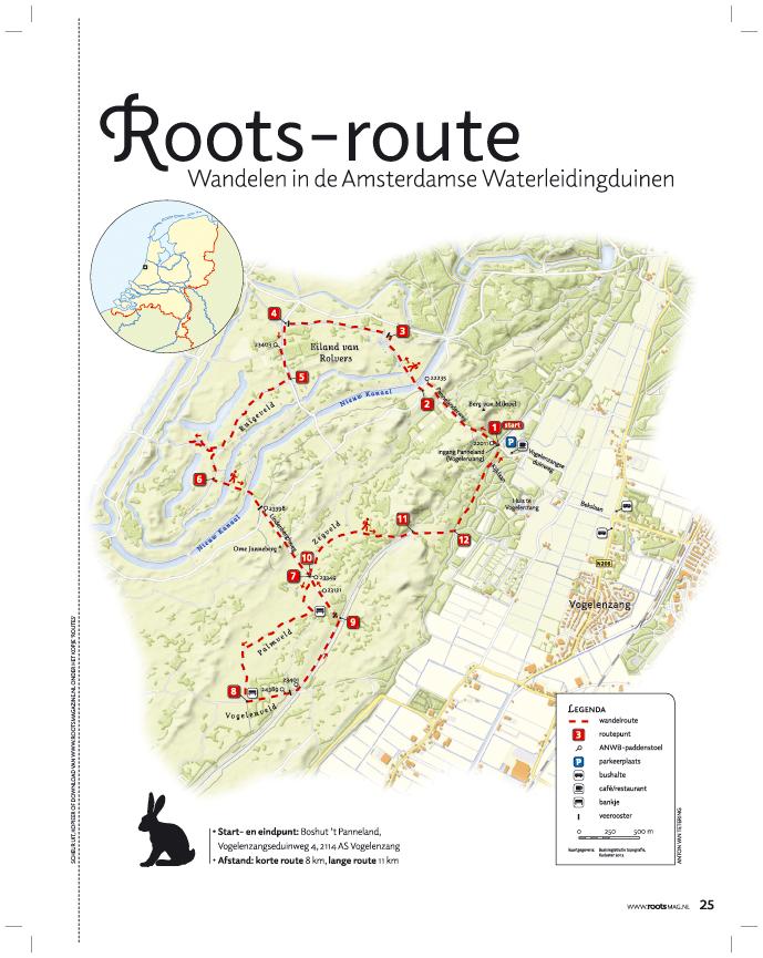 Print Route van de maand januari 2013