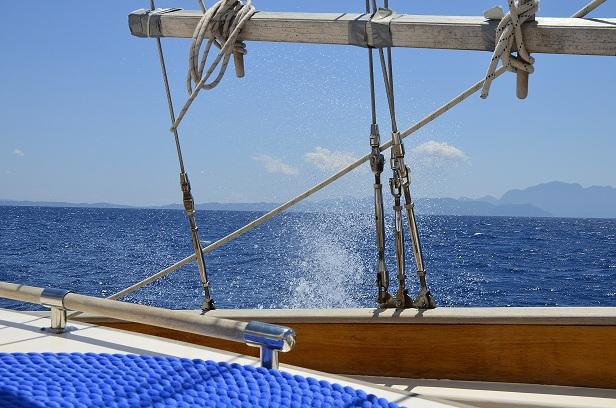 Zon, zee en zeilen