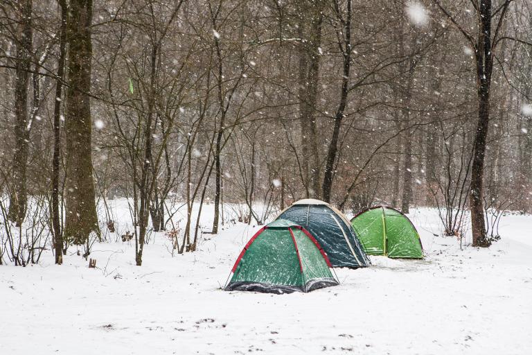 Winterkamperen: Voor de doorgewinterde kampeerfan