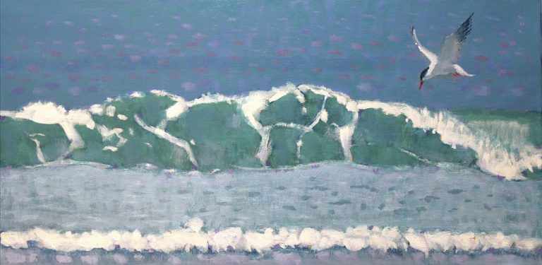 De zee bruist in Kasteel Groeneveld