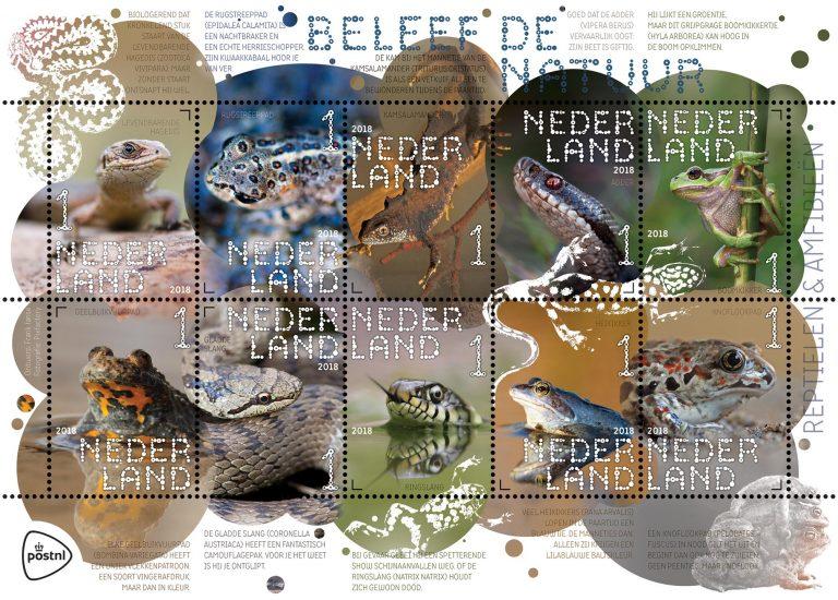 Nieuwe natuurpostzegels bij PostNL