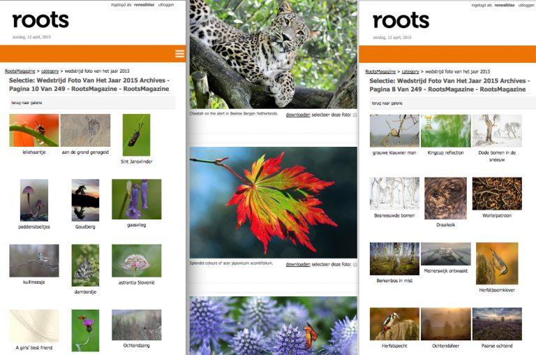 De jurering van de Roots Natuurfotowedstrijd is begonnen!
