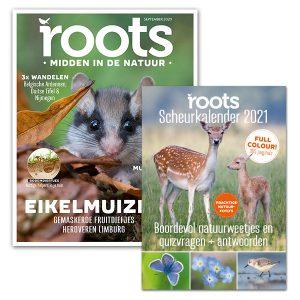 roots abonnement met scheurkalender 2021