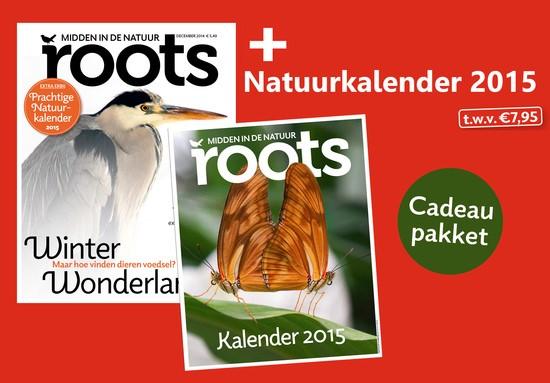 Extra bij nieuwe Roots: Natuurkalender 2015