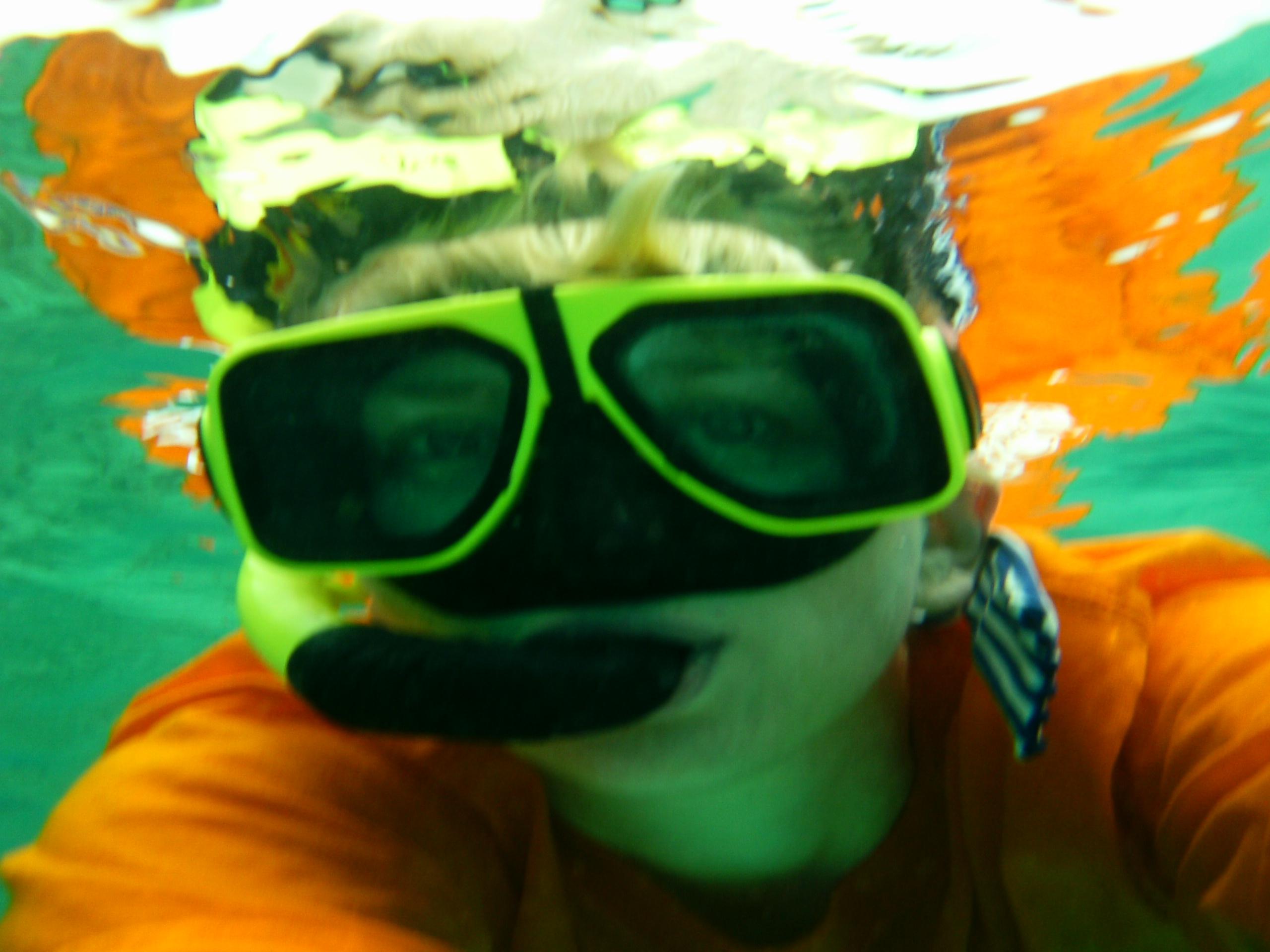 Selfie onder water