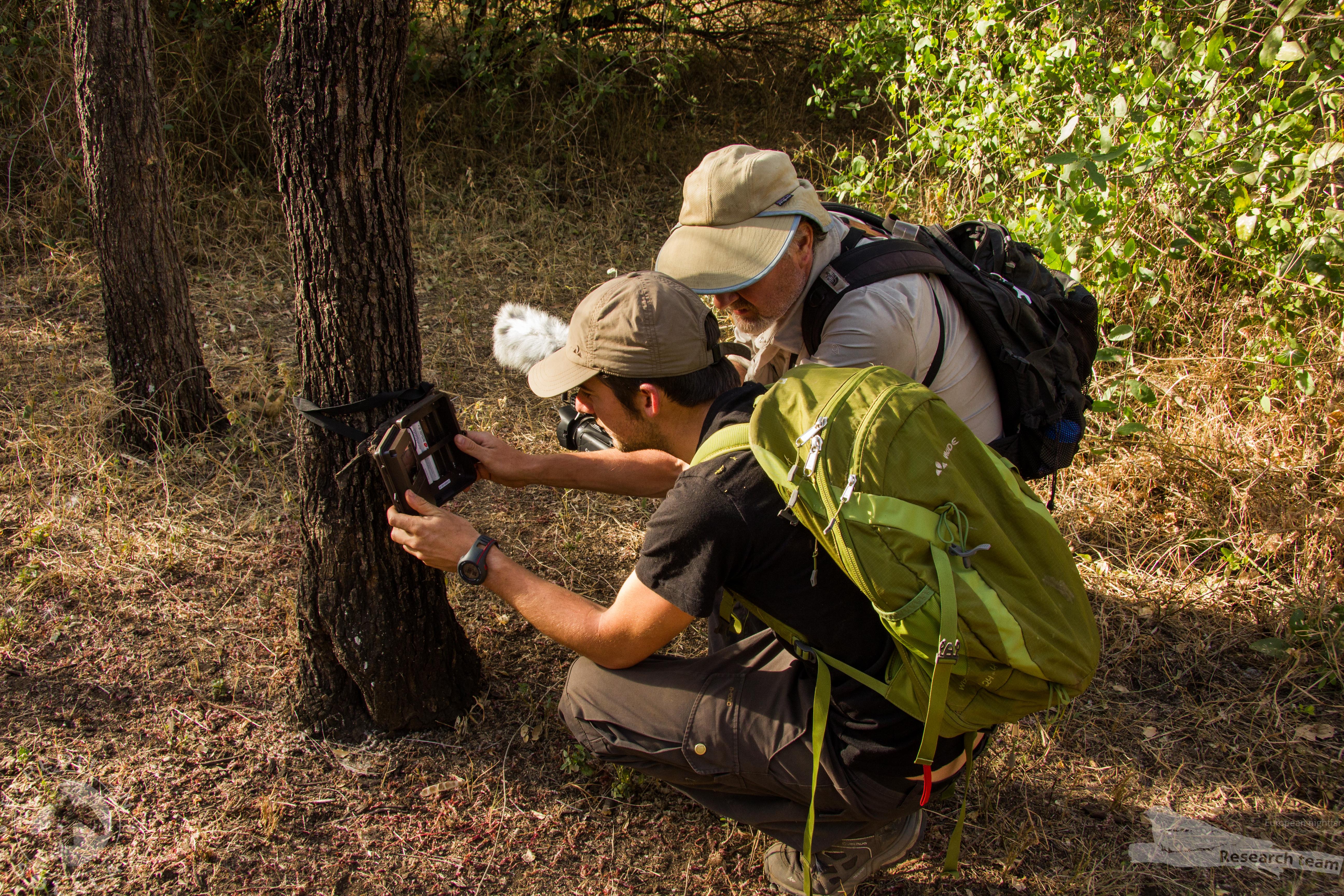 Trailcam monteren