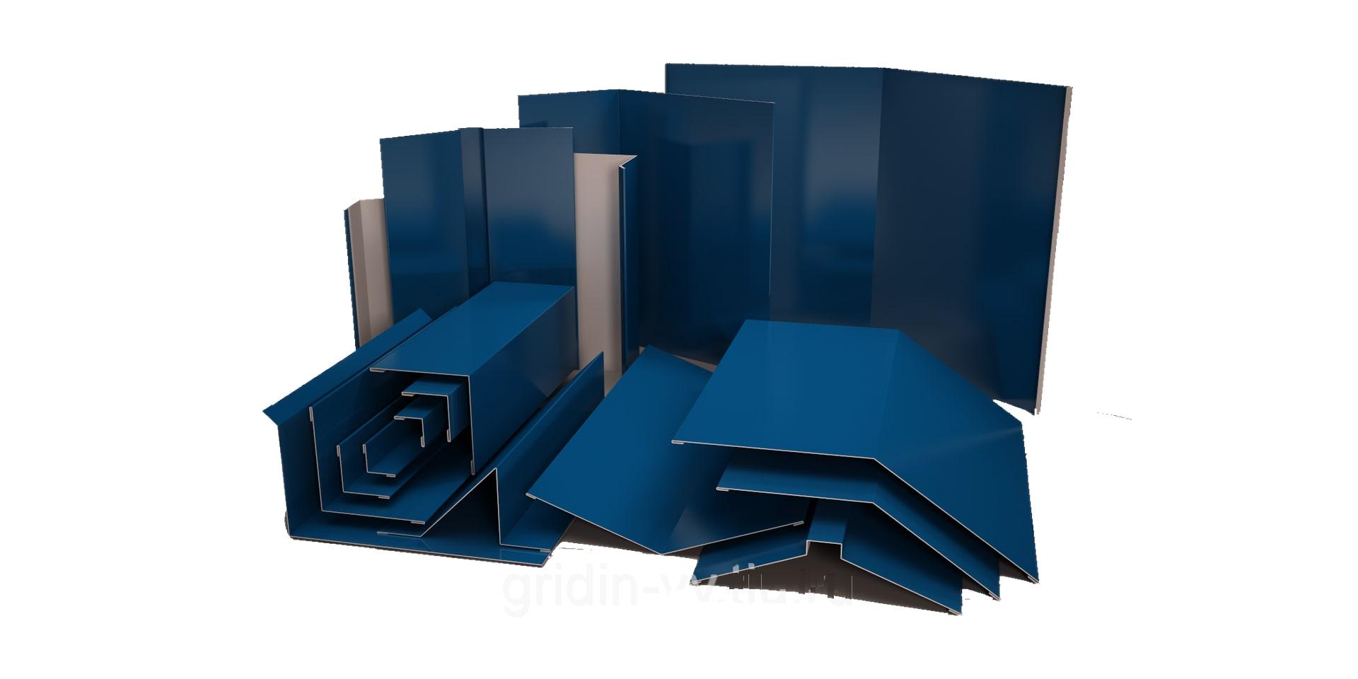 Гнучкі елементи для покрівельних і фасадних матеріалів