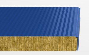 Стінові сендвіч панелі з мінеральної вати