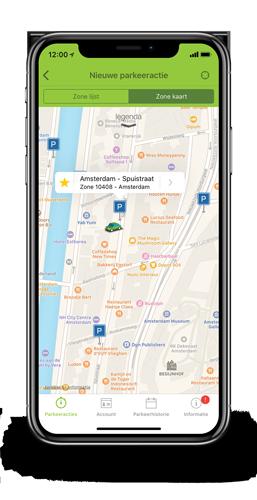 Parkeer app mobiel nieuwe parkeeractie