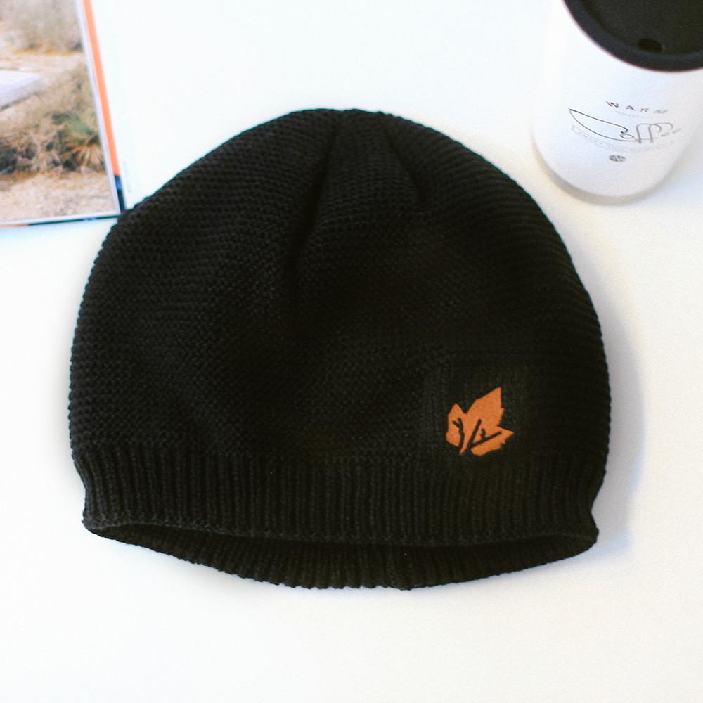 قبعة صوف للرجال والنساء أزياء الشتاء قبعة من الصوف الناعم قبعة مبطنة