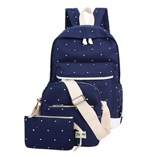 df3f0cd87 طقم حقيبة ثلاث قطع مدرسية ولادي- لون أزر.