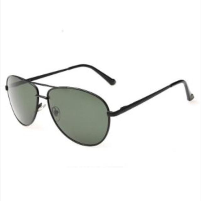 b211fc1c5 نظارة شمسيه رجاليه بولريزد عدسات لون اخضر مع اطار رفيع مع علبه و منديل -  عبدالرحمن