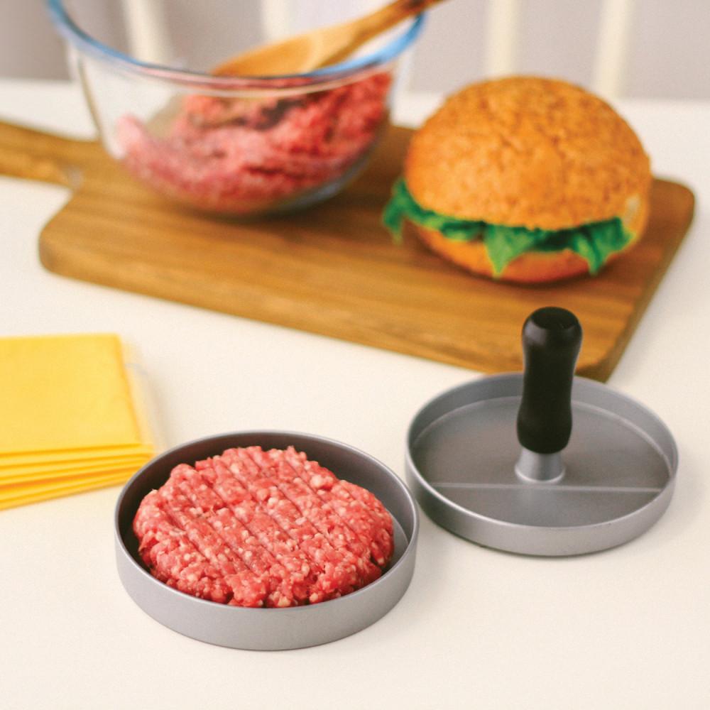 قالب لصنع لحم البرغر تحضير البرجر حفلة شواء أدوات الشواء قالب لصنع لح