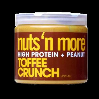 زبدة نتس اند مور عالية البروتين توفي كرنش Nuts 'N More TOFFEE CRUNCH HIGH PROTEIN PEANUT SPREAD