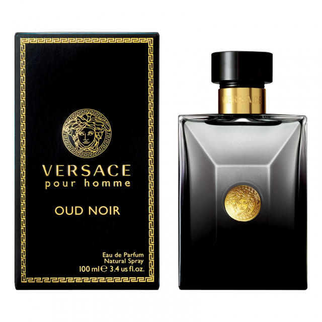 394bbaee2 فيرساتشي بور هوم عود نوار للرجال - او دى بارفان, 100مل Versace Pour Homme  Oud Noir by Versace. 435 ر.س